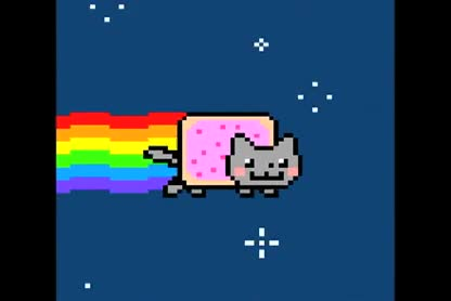 katze, Nyan Cat, Internetphänomen