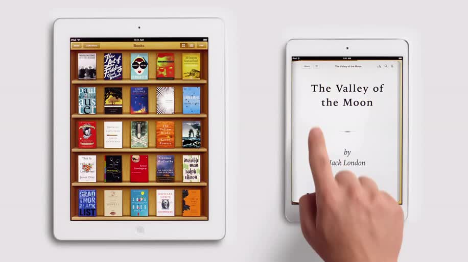 Apple, Tablet, iOS, Ipad, Werbespot, E-Book, iPad mini, Apple iPad mini, Ebook