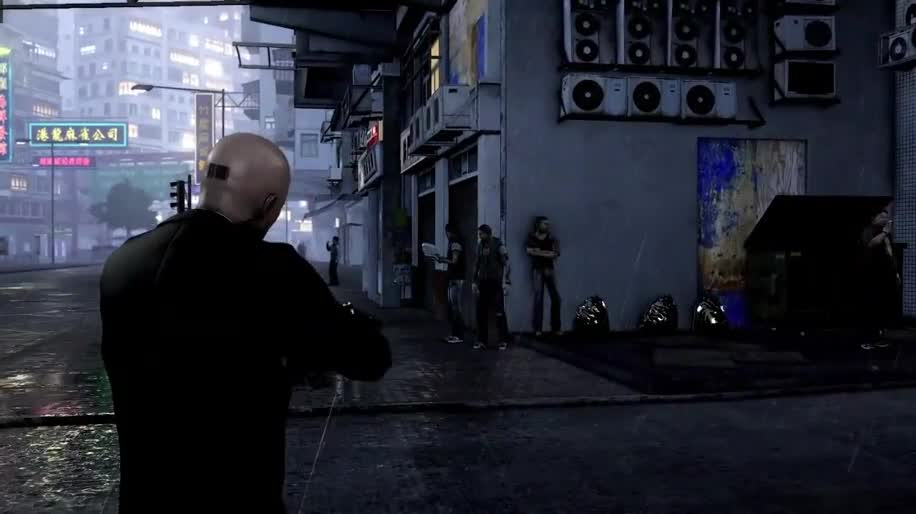 Trailer, Dlc, Square Enix, Hitman, Agent 47, Sleeping Dogs