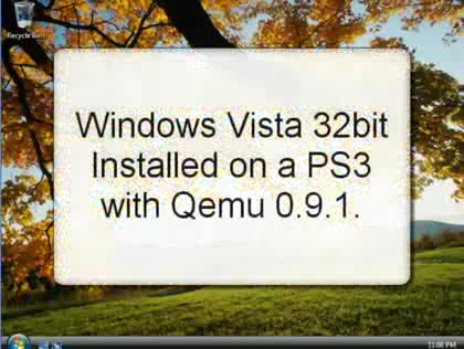 Windows, PlayStation 3, Vista, Emulation, Qemu