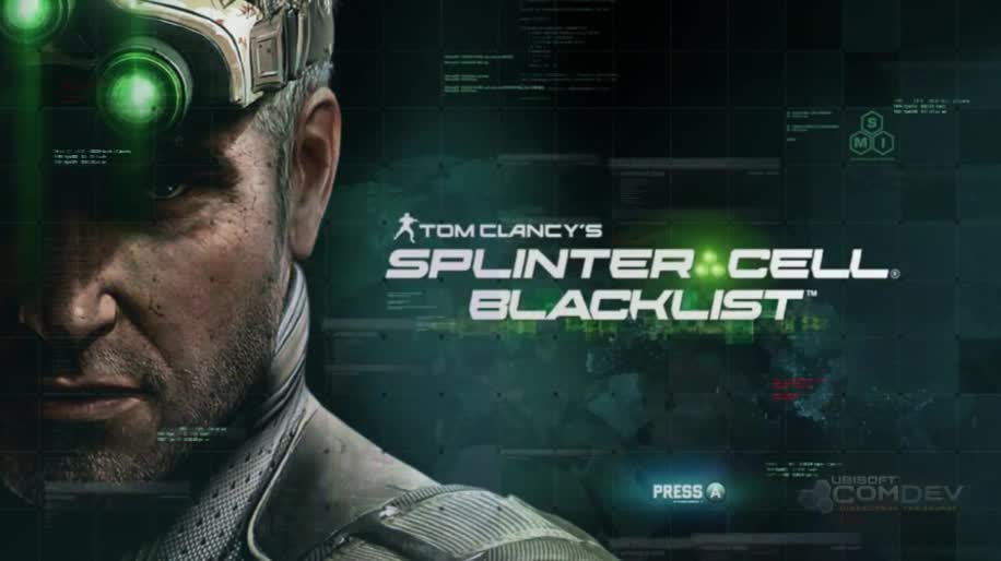 Gameplay, Ubisoft, Splinter Cell, Sam Fisher, Blacklist