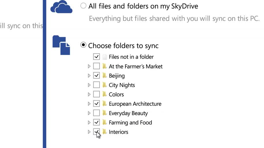 Microsoft, Cloud, Cloudsynchronisation, Skydrive
