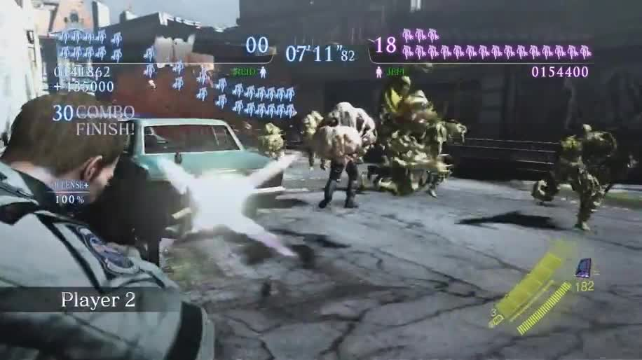 Trailer, Gameplay, Multiplayer, Dlc, Capcom, Resident Evil, Resident Evil 6