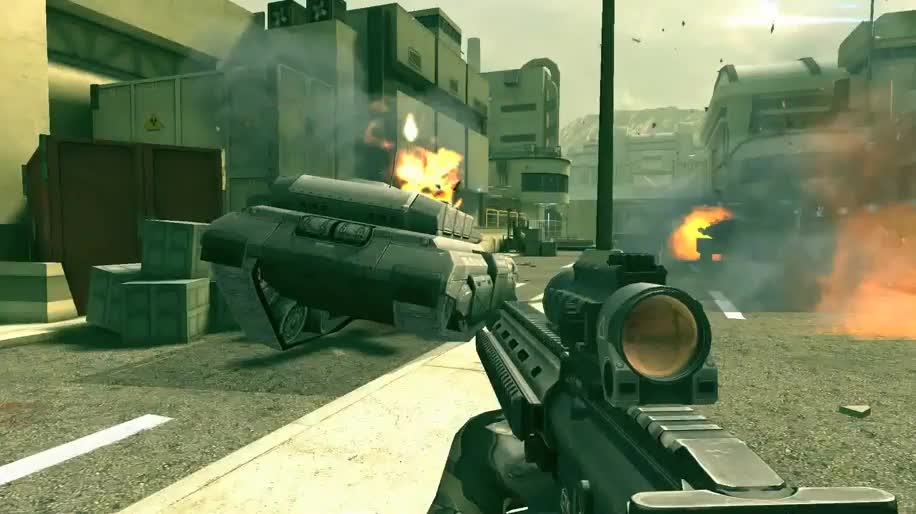 Trailer, Android, iOS, Ego-Shooter, Gameloft, Zero Hour, Modern Combat 4, Modern Combat