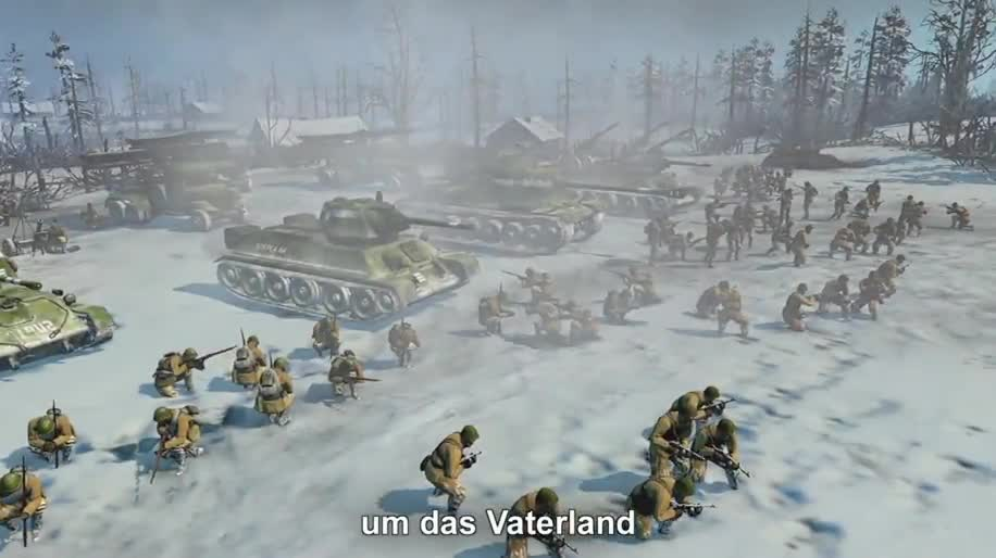 Trailer, Strategiespiel, Thq, Company of Heroes 2, Company of Heroes