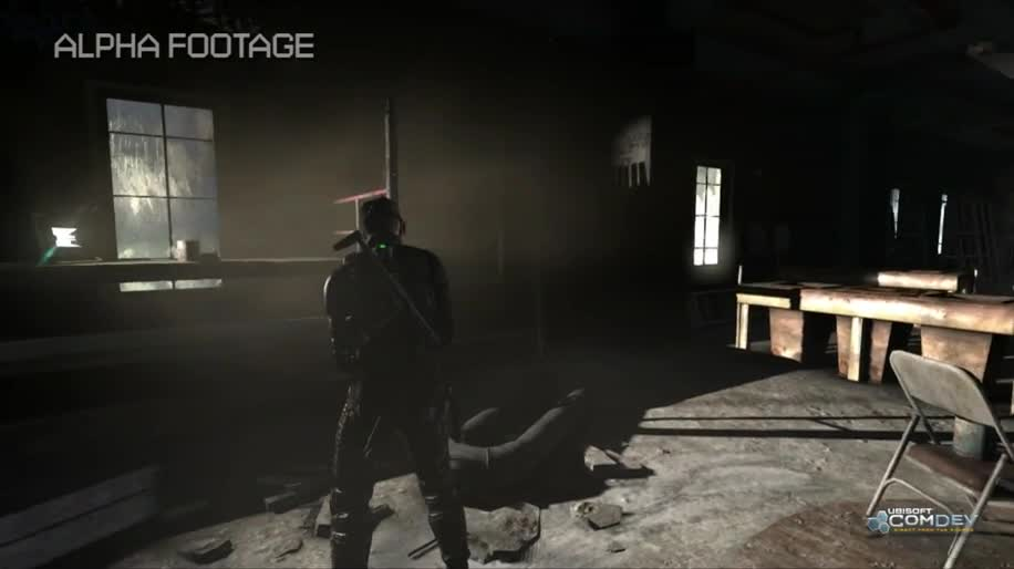 Gameplay, Ubisoft, Splinter Cell, Sam Fisher, Splinter Cell: Blacklist, Blacklist