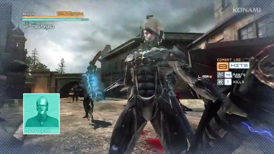 Trailer, Konami, Metal Gear Solid, Metal Gear Rising: Revengeance