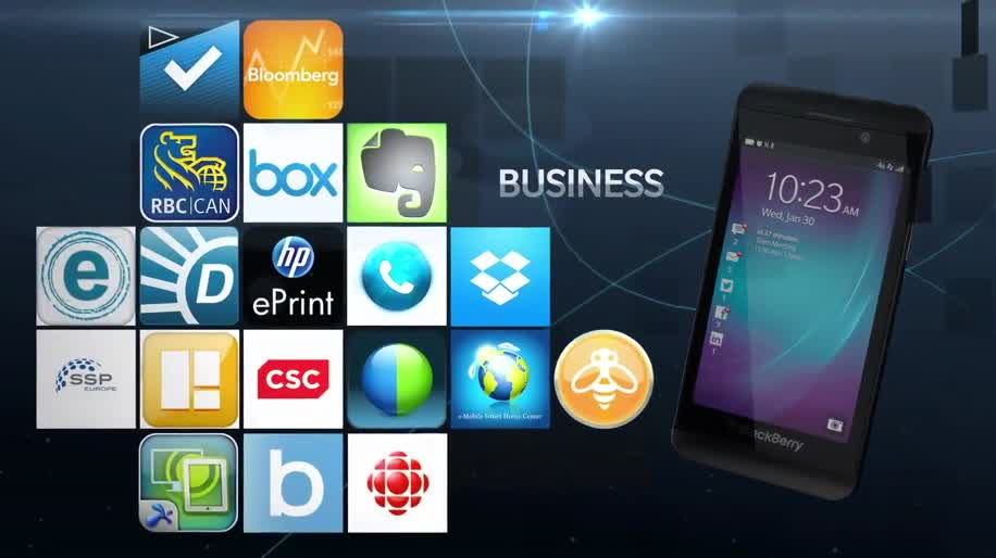 Apps, Werbespot, Blackberry, Blackberry 10, Blackberry Z10