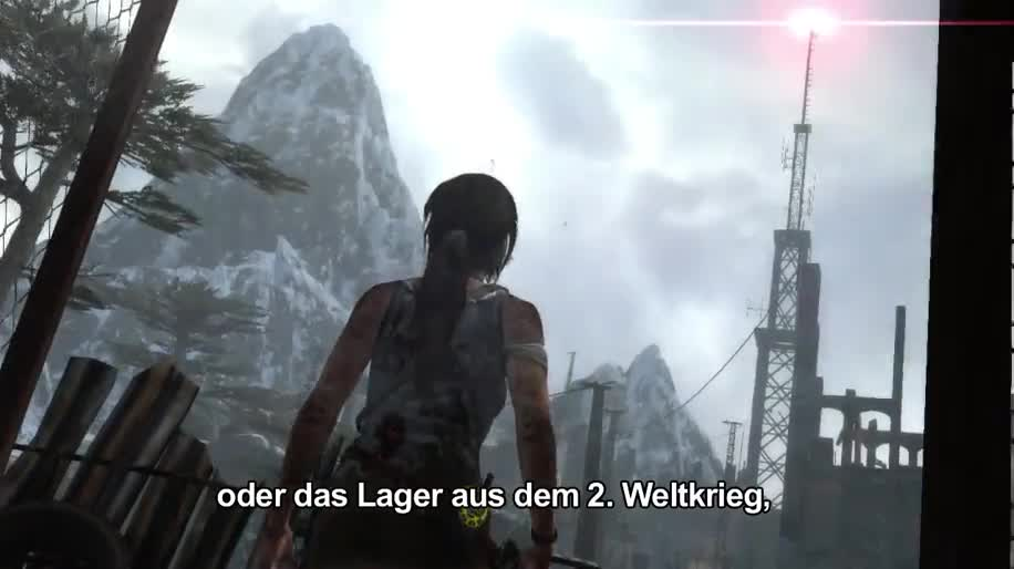 Gameplay, actionspiel, Square Enix, Tomb Raider, Lara Croft