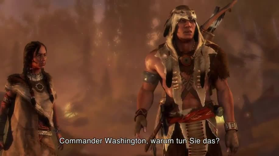 Trailer, Ubisoft, Dlc, Assassin's Creed, Assassin's Creed 3, Die Tyrannei von König George Washington