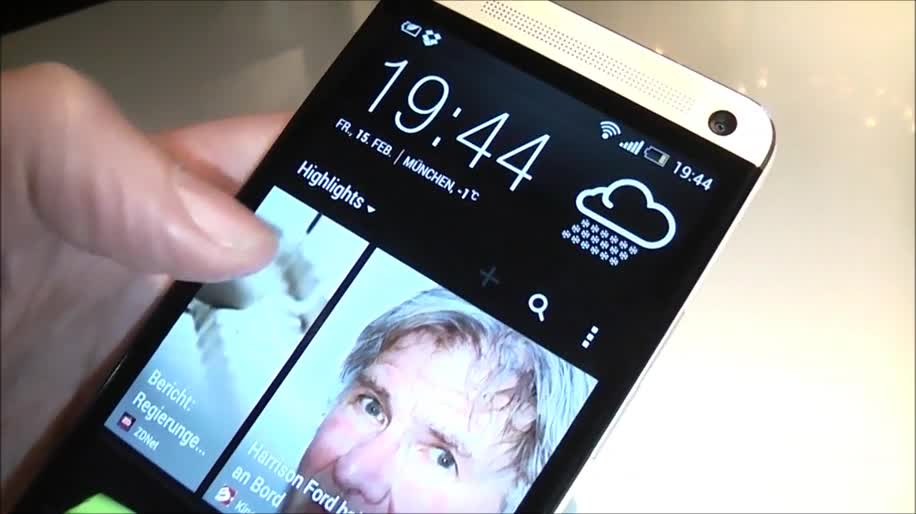 Smartphone, Htc, Hands-On, Winfuture, HTC One, Sense, HTC Sense, HTC M7, Sense 5.0, BlinkFeed