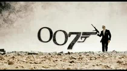 Trailer, James Bond, 007, Quantum Trost