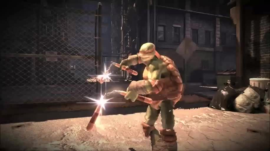 Trailer, Activision, Prügelspiel, Teenage Mutant Ninja Turtles, Out of the Shadows