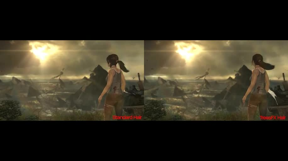 Amd, Square Enix, Tomb Raider, TressFX