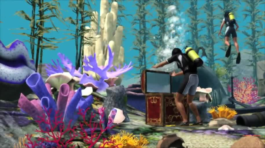 Trailer, Electronic Arts, Ea, Simulation, Die Sims 3, Sims 3, Inselparadies
