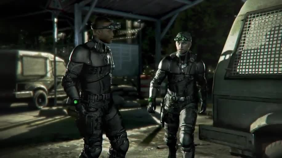 Trailer, Ubisoft, Splinter Cell, Sam Fisher, Splinter Cell: Blacklist