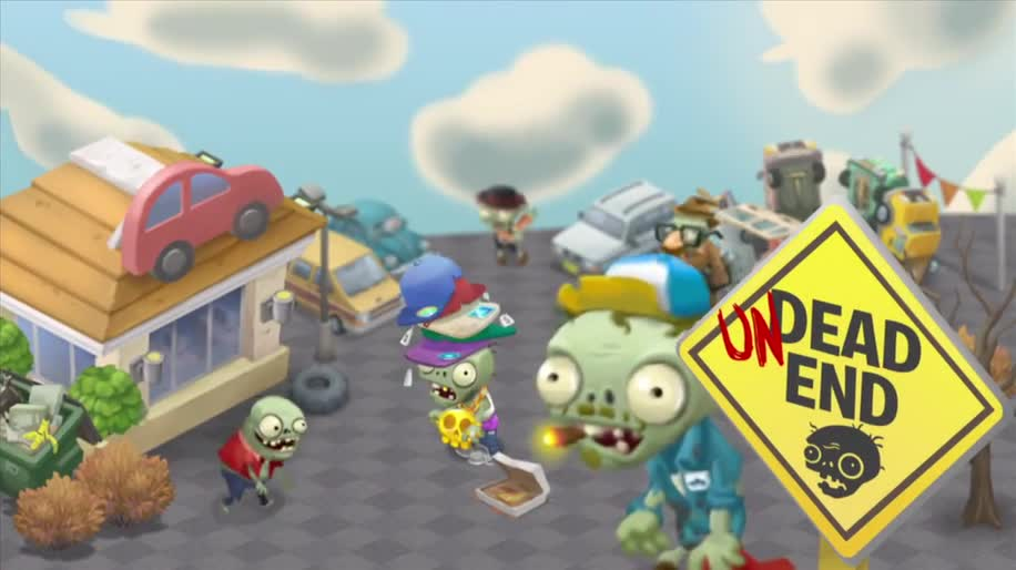 Trailer, Facebook, PopCap, Plants vs Zombies, Browser-Spiel, Plants vs. Zombies Adventures