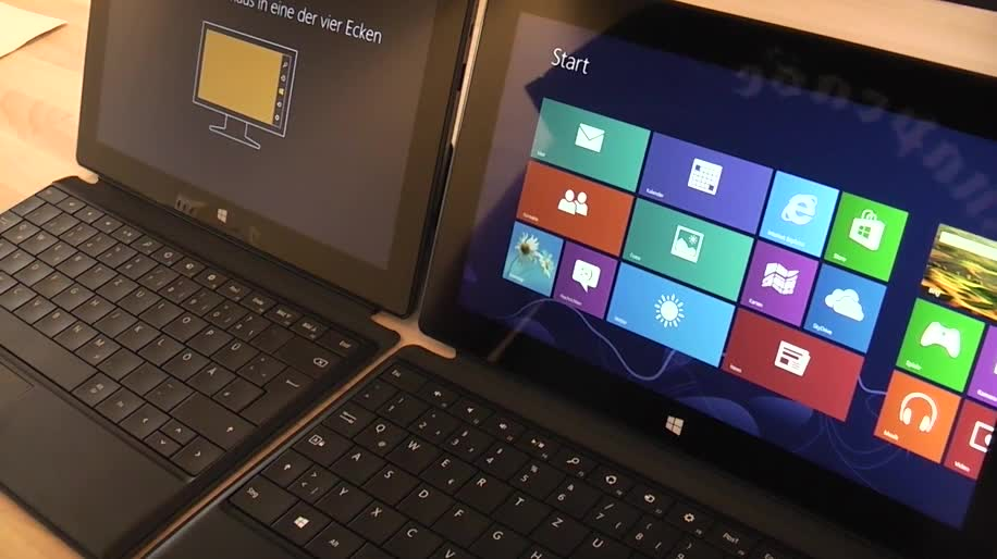 Microsoft, Tablet, Windows 8, Surface, Microsoft Surface, Windows RT, Touchscreen, Surface Pro, Surface RT, Microsoft Surface Pro, Review, Microsoft Surface RT, Vergleich