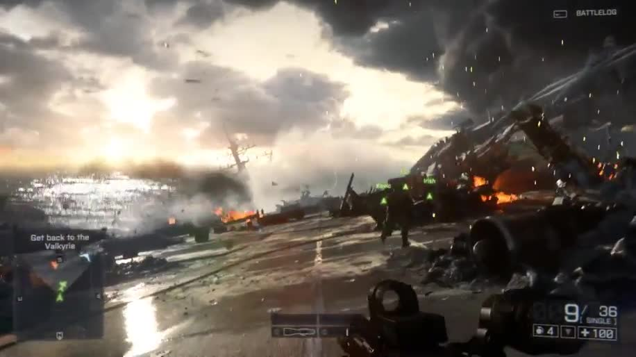 Trailer, Electronic Arts, Ea, Ego-Shooter, E3, Battlefield, Dice, E3 2013, Battlefield 4