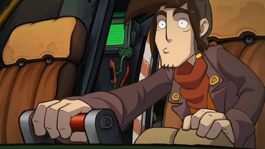 Trailer, E3, Adventure, E3 2013, Deponia, Daedalic Entertainment, Goodbye Deponia