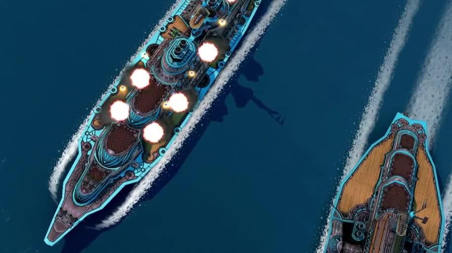 Trailer, E3, E3 2013, Paradox Interactive, Leviathan, Leviathan: Warships