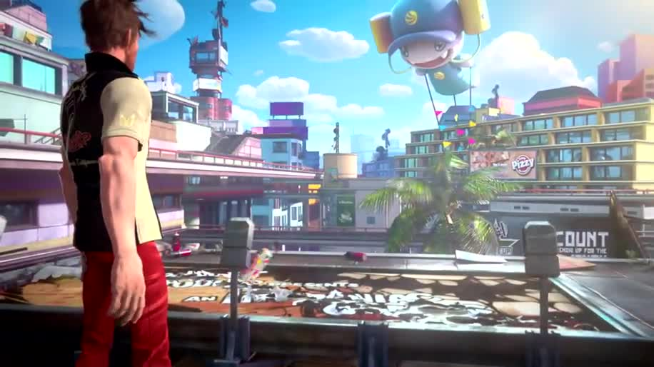 Microsoft, Trailer, Xbox One, E3, actionspiel, E3 2013, Sunset Overdrive, Insomniac Games