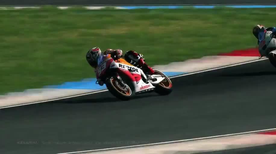 Trailer, Rennspiel, Namco Bandai, Milestone, MotoGP 2013