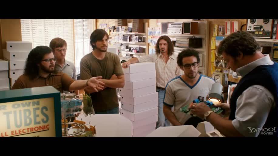 Trailer, Apple, Kino, Kinofilm, Steve Jobs, Jobs, Biografie, Apple Steve Jobs, Ashton Kutcher