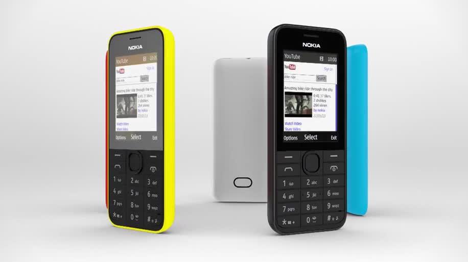 Nokia, Handy, S40, Nokia S40, Nokia 207