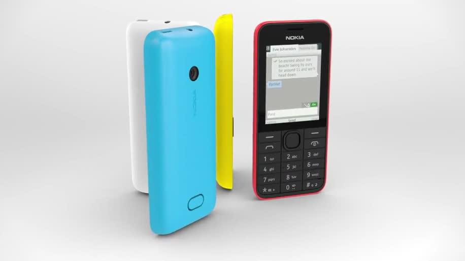 Nokia, Handy, S40, Nokia S40, Nokia 208