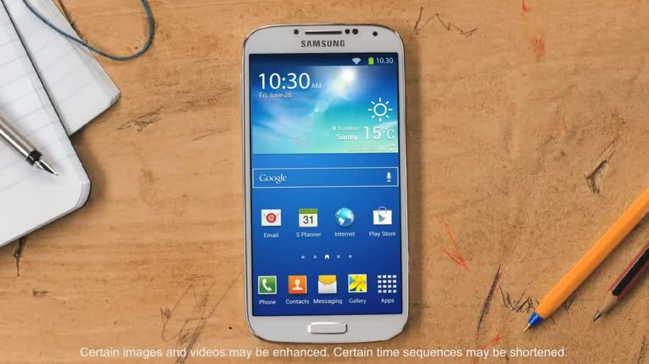 Smartphone, Android, Samsung, Werbespot, Samsung Galaxy, Galaxy, Samsung Galaxy S4, Galaxy S4, Disney, Samsung Mobile, S4, Samsung Galaxy SIV, Pixar, Die Monster Uni