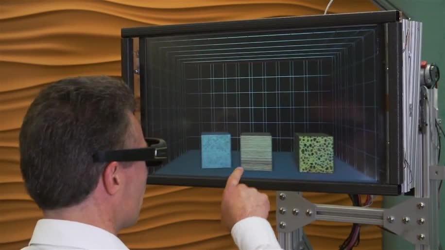 Microsoft, Forschung, Bildschirm, Microsoft Research, 3D-Haptik