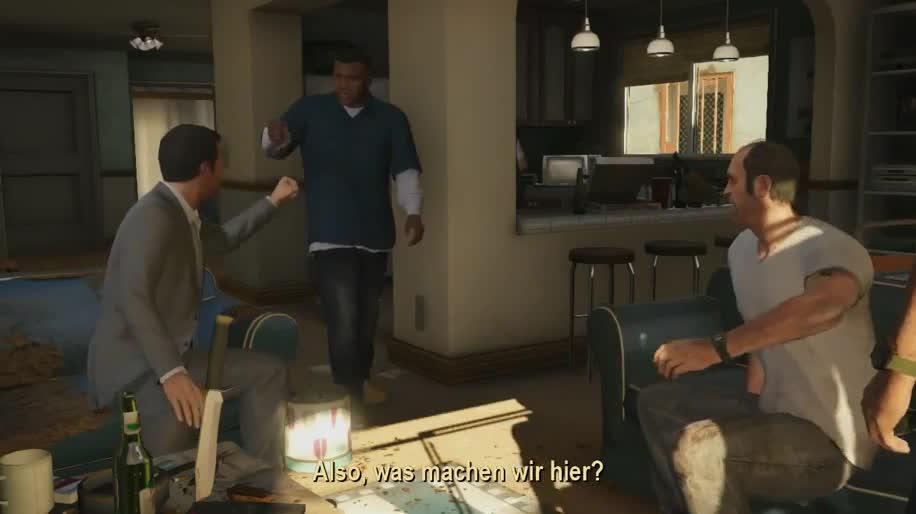 Trailer, Rockstar Games, Rockstar, GTA 5, Gta, Grand Theft Auto, Grand Theft Auto 5