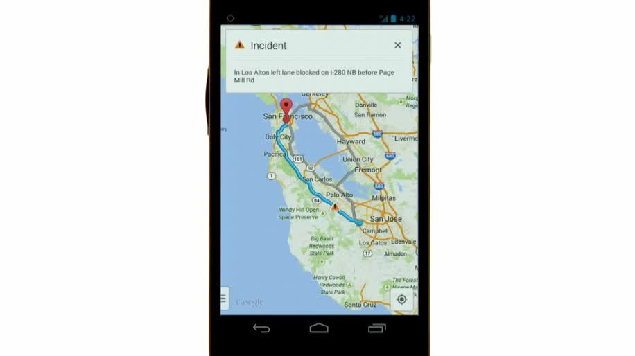 Navigation mit der neuen Google-Maps-App für Android on