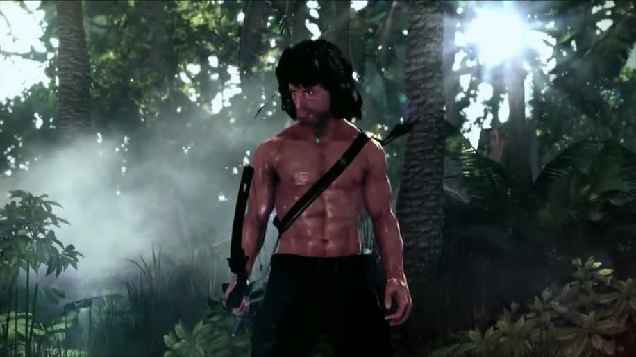 Trailer, actionspiel, Rambo: The Video Game, Rambo, Reef Entertainment