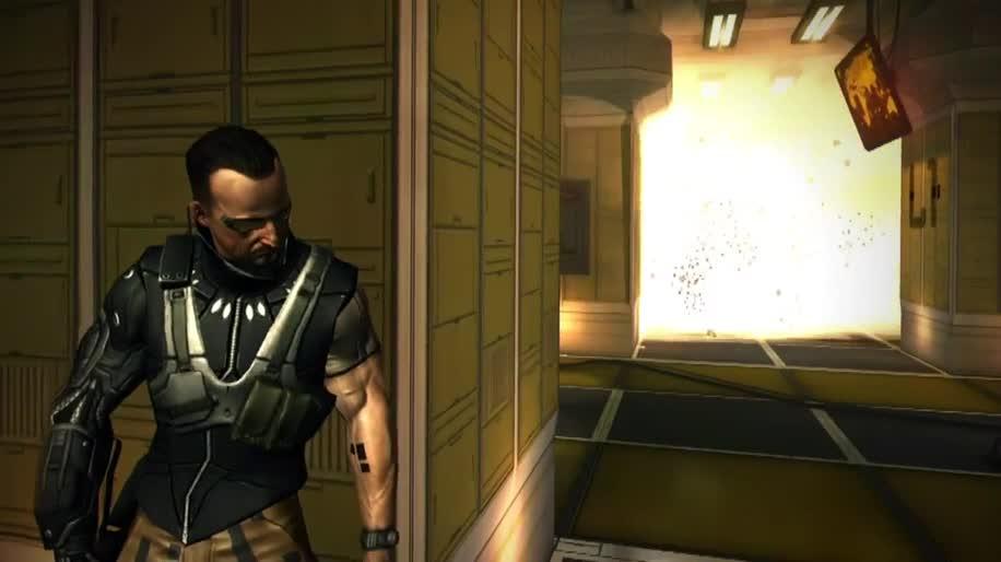 Trailer, Apple, iOS, Eidos, Deus Ex, Deus Ex: The Fall, N-Fusion