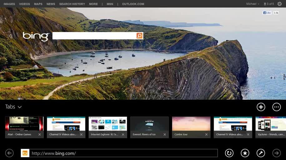 Microsoft, Windows 8, Browser, Windows 8.1, Internet Explorer, Touchscreen, Ie, internet explorer 11, Tabs, ie11
