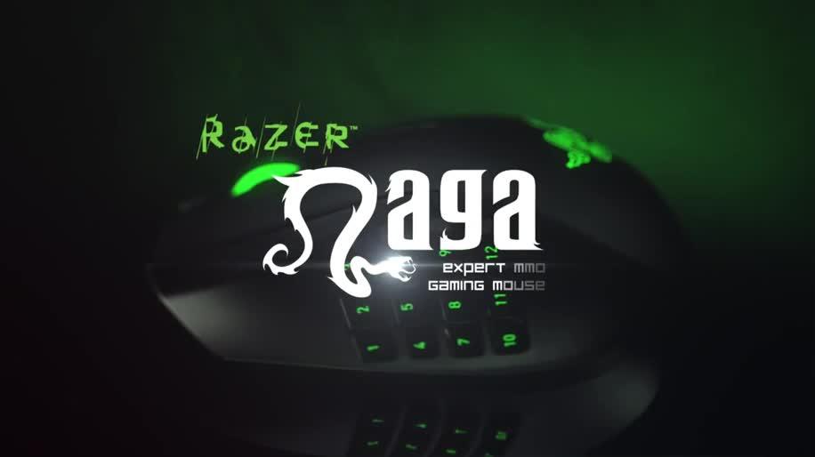 Mmorpg, Mmo, Maus, Razer, Computermaus, Naga, Razer Naga