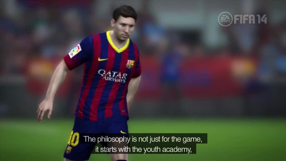 Electronic Arts, Ea, Fußball, EA Sports, Fifa, FIFA 14, FC Barcelona