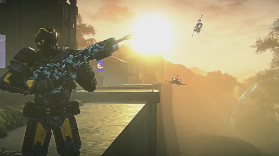 Trailer, Ego-Shooter, Online-Spiele, Free-to-Play, Online-Shooter, Sony Online Entertainment, SOE, Planetside 2, PlanetSide