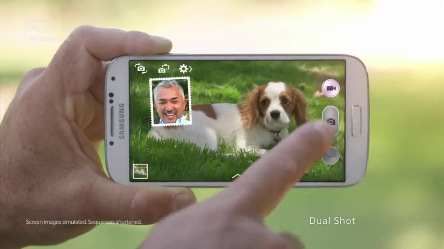 Smartphone, Android, Samsung, Samsung Galaxy, Werbespot, Galaxy, Samsung Galaxy S4, Samsung Mobile, Galaxy S4, Fotografie, S4, Samsung Galaxy SIV, Hund, Cesar Millan, Dual Shot, Sound & Shot
