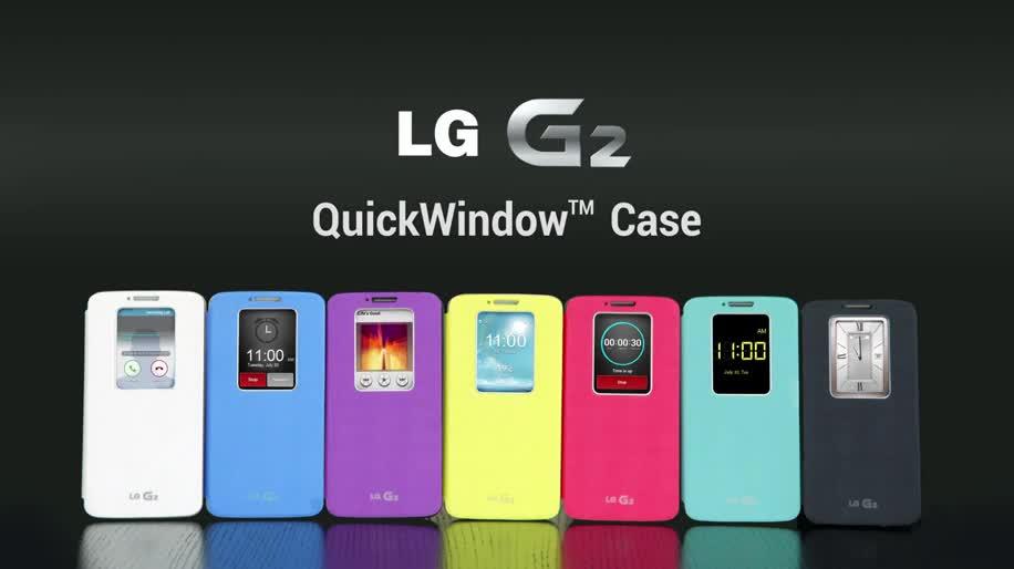 Smartphone, LG, LG Electronics, LG G2, Hülle, Schutzhüllen, QuickWindow