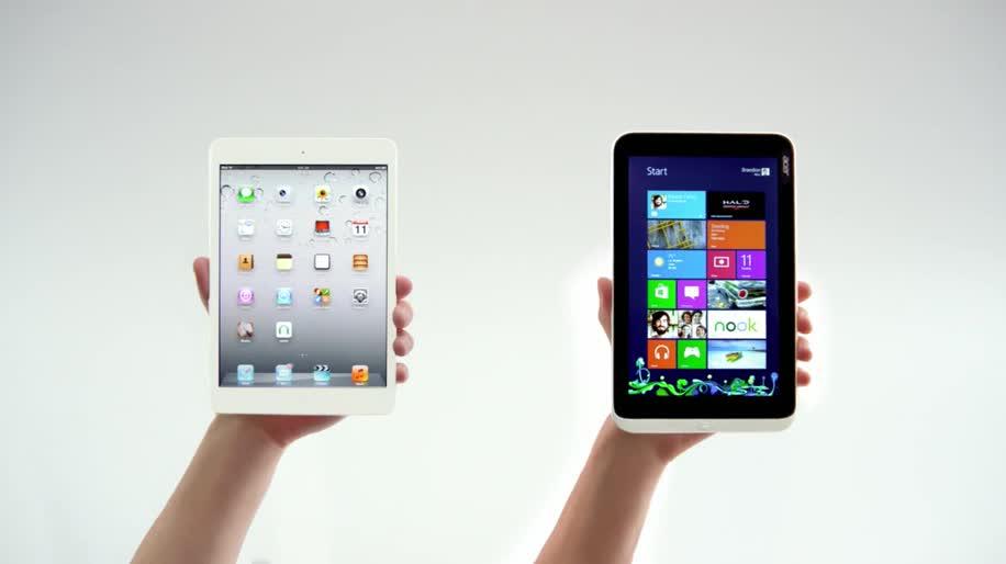 Apple, Tablet, Windows 8, Ipad, Werbespot, Acer, Siri, iPad mini, Apple iPad mini, Apple Siri, Acer Iconia Tab W3, Acer Iconia W3
