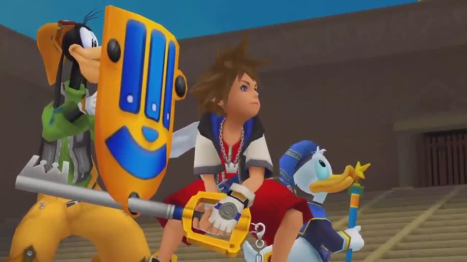 Trailer, Sony, Rollenspiel, PlayStation 3, PS3, Square Enix, Kingdom Hearts, Kingdom Hearts Final Mix, Kingdom Hearts Re:Chain of Memories