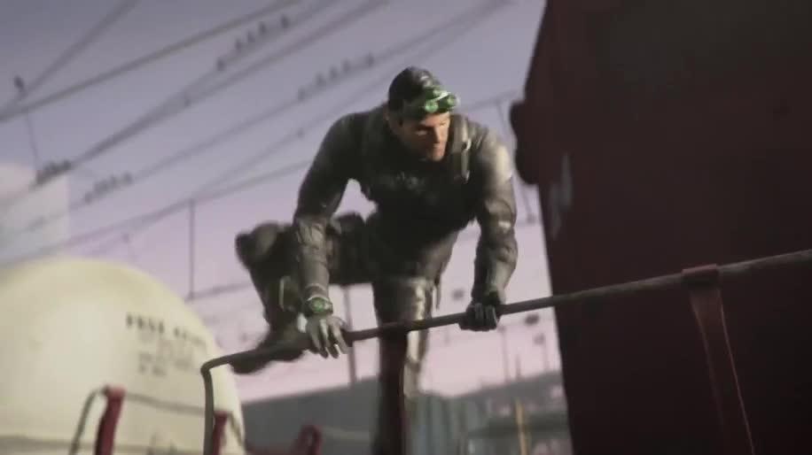 Werbespot, Ubisoft, actionspiel, Splinter Cell, Sam Fisher, Splinter Cell: Blacklist