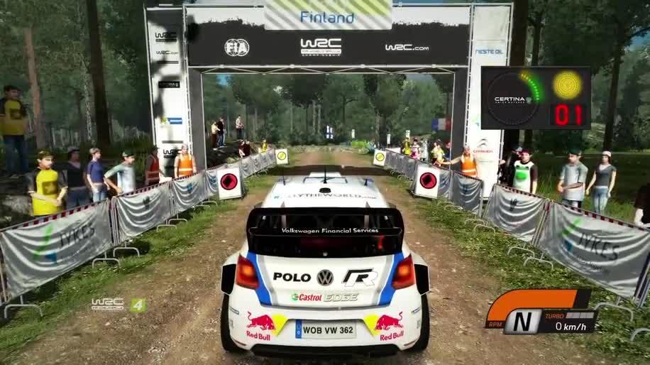 Gameplay, Rennspiel, Milestone, WRC, World Rally Championship, Bigben Interactive, WRC 4