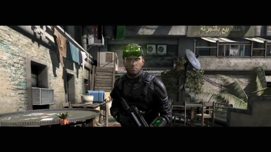 Trailer, Ubisoft, actionspiel, Splinter Cell, Sam Fisher, Splinter Cell: Blacklist