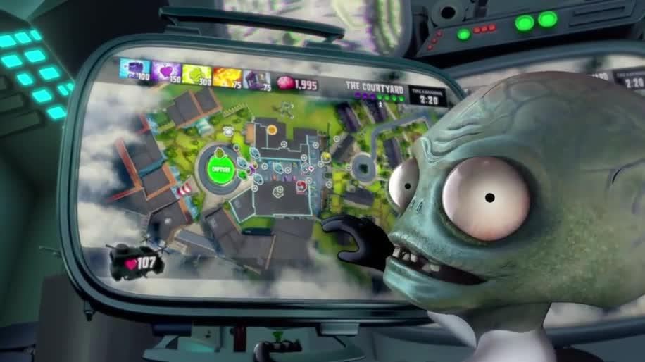 Trailer, Electronic Arts, Ea, Gamescom, Gamescom 2013, Plants vs Zombies, Garden Warfare