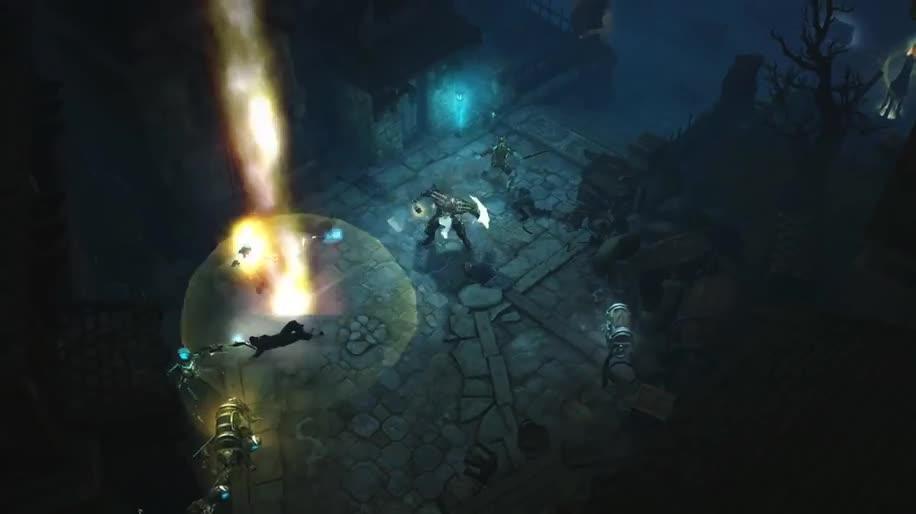 Trailer, Gameplay, Gamescom, Rollenspiel, Blizzard, Teaser, Diablo 3, Diablo, Gamescom 2013, diablo III, Reaper of Souls