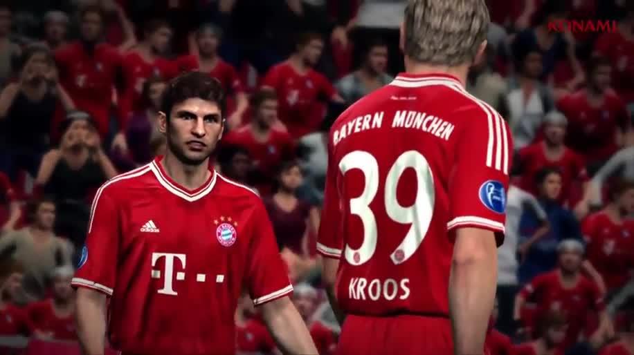 Trailer, Gamescom, Fußball, Konami, Gamescom 2013, PES, Pro Evolution Soccer, PES 2014
